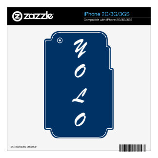 iPhone 2G/3G/3GS YOLO skin Skin For iPhone 2G