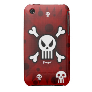 Iphone 3 barely there - Damage Inc Skull Case-Mate iPhone 3 Case