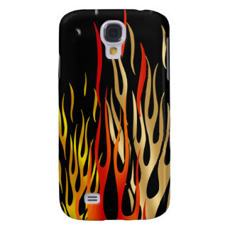 iPhone 3 Bikers Hard Core Flames Cover Sports Galaxy S4 Covers