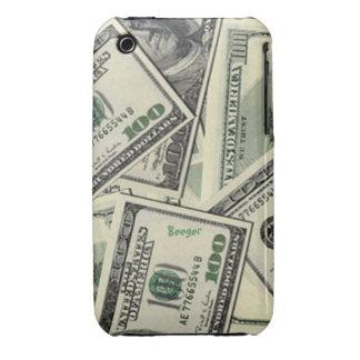 Iphone 3 BT - dinero del dinero del dinero Case-Mate iPhone 3 Cobertura
