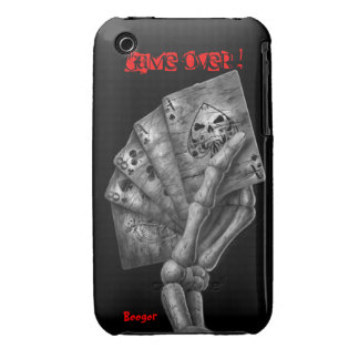 Iphone 3 bt - Game Over Deck of Cards iPhone 3 Cover