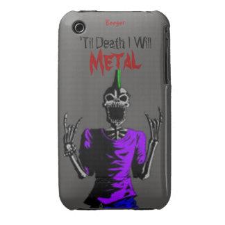 Iphone 3 BT - hasta muerte Metal Funda Para iPhone 3 De Case-Mate