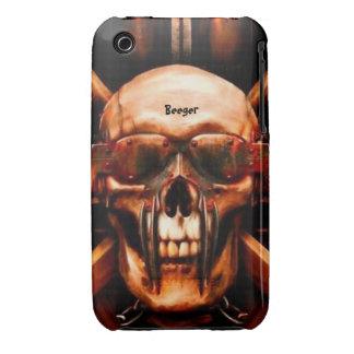 Iphone 3 BT - Metalhead mega Carcasa Para iPhone 3