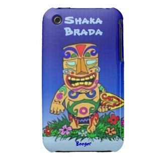 Iphone 3 BT - tipo de Shaka Brada Tiki Case-Mate iPhone 3 Funda