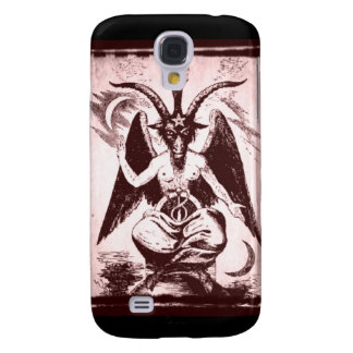 Iphone 3 Case Baphomet Old Style