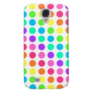 iPhone 3 Case - Polka Dot Rainbow