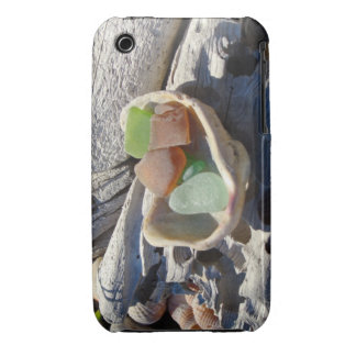 iPhone 3 cases Seaglass Beach Coast Shells gifts