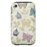 iphone 3, de las mariposas caso 3g tough iPhone 3 fundas