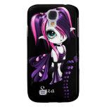 iPhone 3 de Lyssa Fae Funda-rosado/púrpura