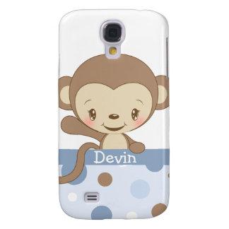 iPhone 3 del parque zoológico del mono Funda-azul