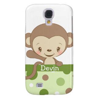 iPhone 3 del parque zoológico del mono Funda-verde
