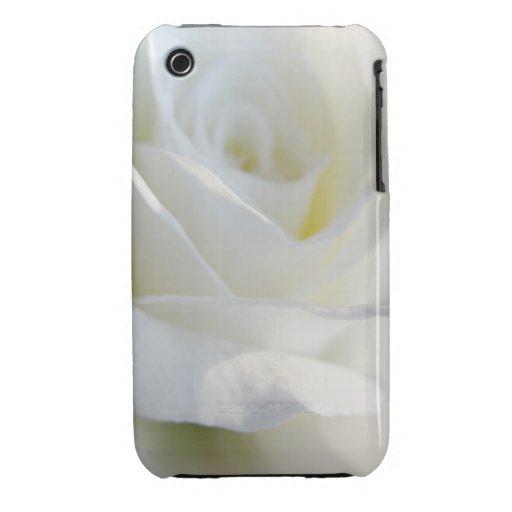 iPhone 3 del rosa blanco - hermoso iPhone 3 Case-Mate Cárcasas