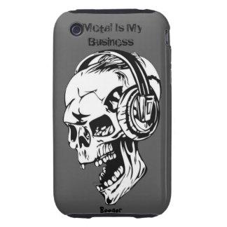 Iphone 3 duro - el metal es mi negocio tough iPhone 3 cárcasas