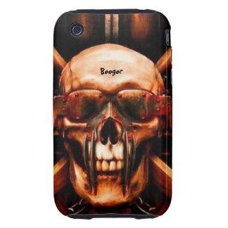 Iphone 3 duro - Metalhead mega Carcasa Though Para iPhone 3