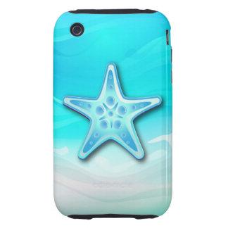 iPhone 3 estrellas de mar del caso Tough iPhone 3 Protector