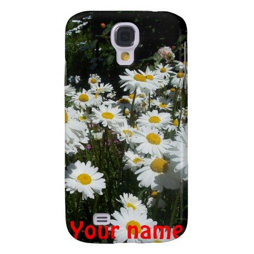 iPhone 3 margaritas blancas de la caja de la mota