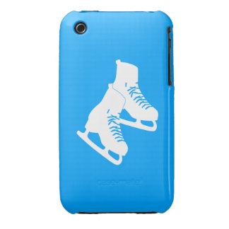 iPhone 3 patines de hielo azules iPhone 3 Case-Mate Fundas