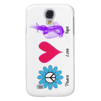 Iphone 3 Peace Love Vape Samsung S4 Case