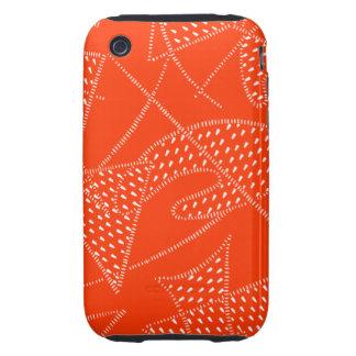 iPhone 3/S Tuff Case ATOMIC BOOMERANG 50s PERSIMMO