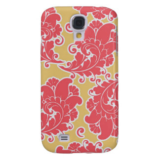 iPhone 3 Speck Case - Pattern Pink Coral Damask Samsung Galaxy S4 Covers