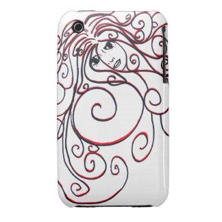 iPhone 3 Swirls Case