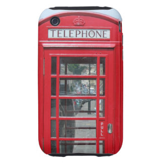 iPhone 3 Tough: Classic red telephone box photo Tough iPhone 3 Cover