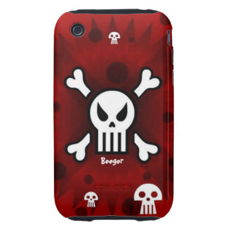 Iphone 3 tough - Damage Inc Skull iPhone 3 Tough Case
