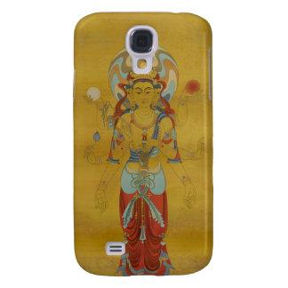 iPhone 3G/3GS - 8 Arm Guan Yin Buddha Bamboo Back Galaxy S4 Cover