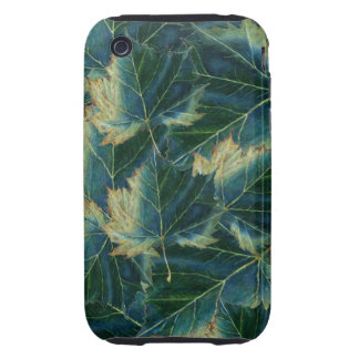 iPhone 3G/3GS Case leaves drawing iPhone 3 Tough Covers