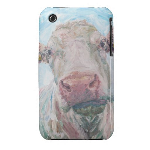 iPhone 3G/3GS Case-Mate Barely There™ - Cow iPhone 3 Case-Mate Case