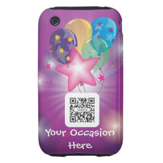 iPhone 3G/3Gs Case Template Balloons