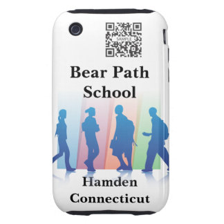 iPhone 3G/3Gs Case Template Elementary School iPhone 3 Tough Covers