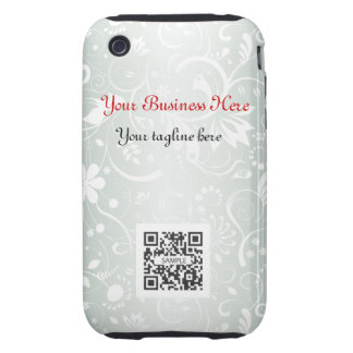 iPhone 3G/3Gs Case Template Gray Floral Generic