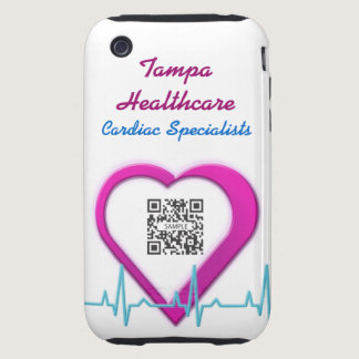 iPhone 3G/3Gs Case Template Heart Health