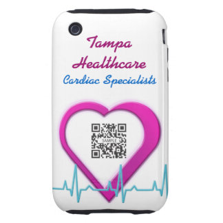 iPhone 3G/3Gs Case Template Heart Health