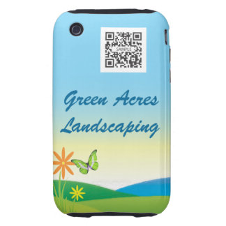 iPhone 3G/3Gs Case Template Landscaping iPhone 3 Tough Case