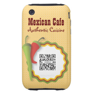 iPhone 3G/3Gs Case Template Mexican Food Tough iPhone 3 Cases