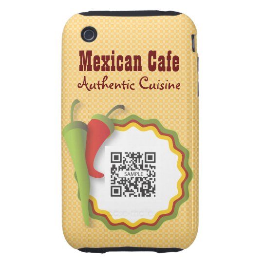 iPhone 3G/3Gs Case Template Mexican Food