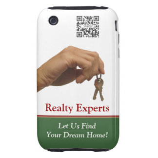 iPhone 3G/3Gs Case Template Realty Experts iPhone 3 Tough Cover