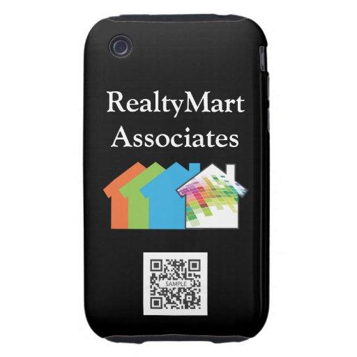 iPhone 3G/3Gs Case Template RealtyMart Tough iPhone 3 Case