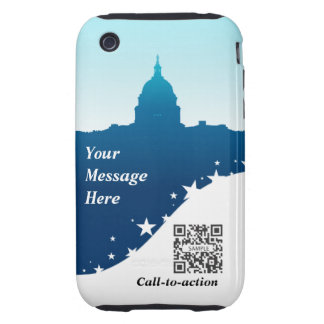 iPhone 3G/3Gs Case Template US Capital Building