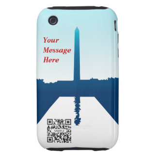 iPhone 3G/3Gs Case Template Washington Monument