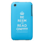 [Crown] be reem and read on!!!!!!  iPhone 3G/3GS Cases iPhone 3 Cases