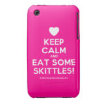 [Love heart] keep calm and eat some skittles!  iPhone 3G/3GS Cases iPhone 3 Cases