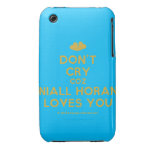[Two hearts] don't cry coz niall horan loves you  iPhone 3G/3GS Cases iPhone 3 Cases