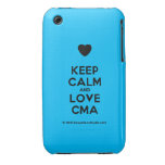 [Love heart] keep calm and love cma  iPhone 3G/3GS Cases iPhone 3 Cases