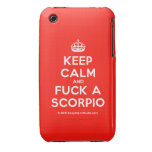[Crown] keep calm and fuck a scorpio  iPhone 3G/3GS Cases iPhone 3 Cases