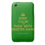 [Crown] keep calm and fuck with skeeter gang  iPhone 3G/3GS Cases iPhone 3 Cases