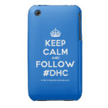 [Crown] keep calm and follow #dhc  iPhone 3G/3GS Cases iPhone 3 Cases