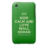 [UK Flag] keep calm and love niall horan  iPhone 3G/3GS Cases iPhone 3 Cases
